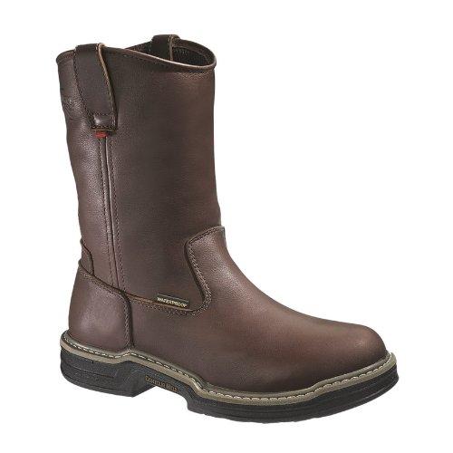 Wolverine Men's Buccaneer W04827 Work Boot,Dark Brown,13 XW US (Wolverine Mens Sr Wellington Boot W04727 Brown)