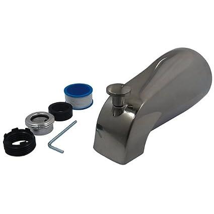Oil Rubbed Bronze KINGSTON BRASS K1273A5 5-3//8-Inch Universal Diverter Tub Spout
