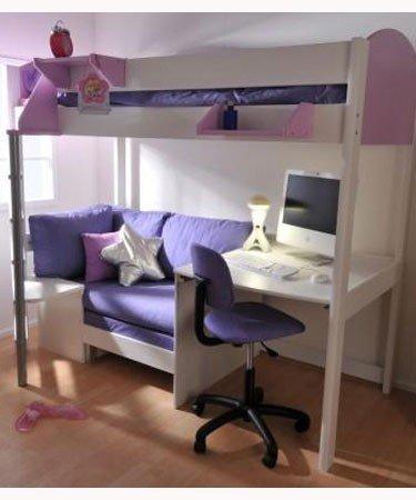 hochbett sofa elegant kinderbett etagenbett with hochbett sofa spannende ikea hochbett metall. Black Bedroom Furniture Sets. Home Design Ideas