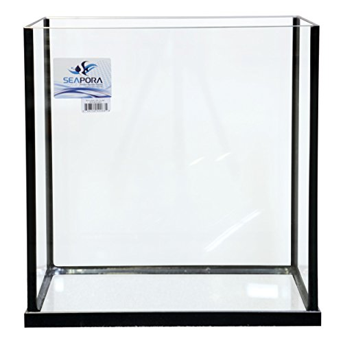 Seapora 56113 Rf Series Rimless Cube Aquarium, 35 gallon by Seapora