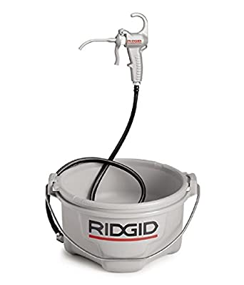 RIDGID 10883 Model 418 Pipe Threading Oiler, All Weather Oiler with Oil Reservoir and Pump Assembly for Pipe Threading Oil from Ridgid