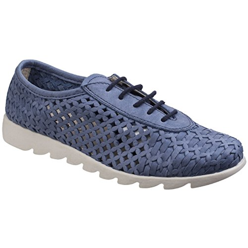 Flexx Over Up ladies Shoes Drive Lace The Womens Denim FPna7pWp