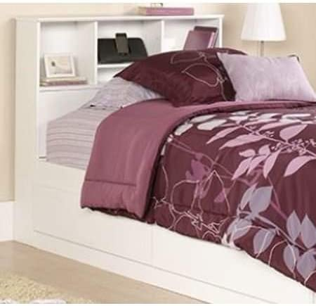Twin Storage Bed White