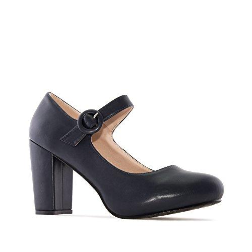 Andres Machado AM5197 - Schuhe Aus Samt Weinrot AM5197 SOFT DUNKELBLAU
