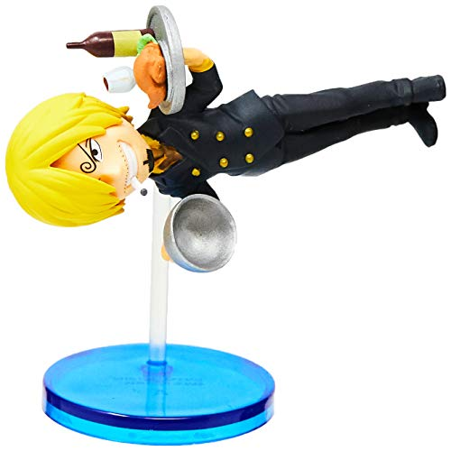 Action Figure Onepiece - Sanji History Wcf - Sanji Bandai Banpresto Multicor