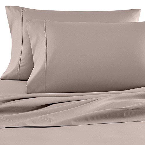 Wamsutta 620 Thread Count 100% Egyptian Cotton Twin Sheet Set in Silver