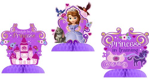 Hallmark Disney Junior Sofia the First Tabletop (Sofia The First Party Decoration)