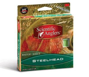 9wt Lines (Scientific Anglers Mastery Steelhead Fly Line Mist Green, WF-7-F)