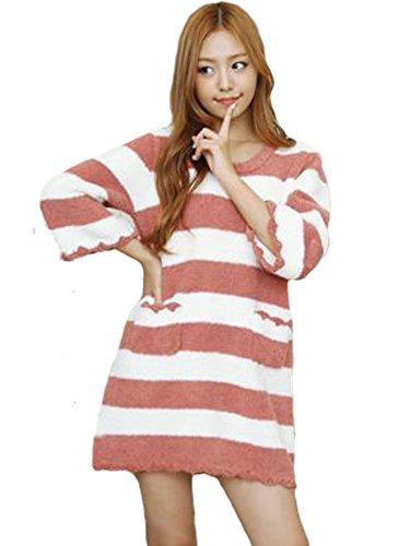 6l Thermal Magic ([LUCE miraco] Womens Nightgown Comfort Cotton Sexy Sleepwear Pajamas Nightdress)