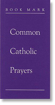 US Gifts Common Catholic Prayers