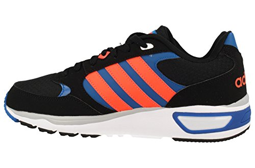 adidas Cloudfoam 8Tis, Men's Running Shoes Black (Negbas / Rojsol / Azuuni)