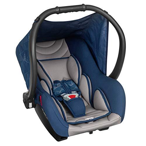 Bebê Conforto Ello Até 13 Kg, Tutti Baby, Azul Marinho e Cinza