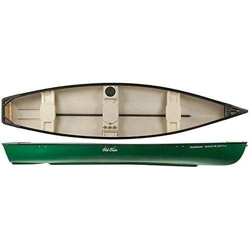 Old Town Canoes & Kayaks Rogue River 154 Recreational Square Stern Canoe,  Green