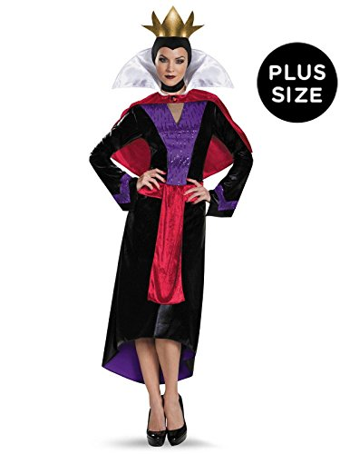 Disney Deluxe Evil Queen Womens Plus Size Costume -