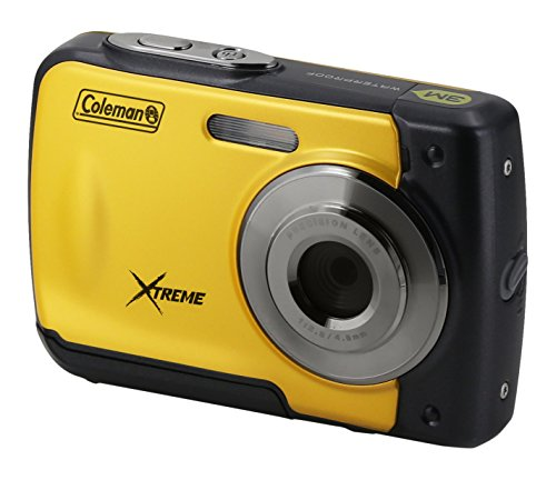 Coleman Xtreme 18.0 MP HD Underwater Digital & Video Camera (Waterproof to 10 ft.), 2.5