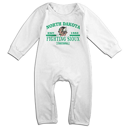 Dadada Newborn University Of North Dakota Long Sleeve Bodysuit 18 Months