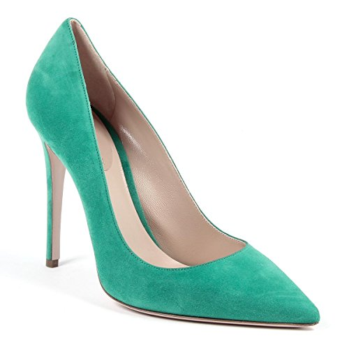 Andrew Charles Di Andy Hilfiger Womens Pump Green Austin