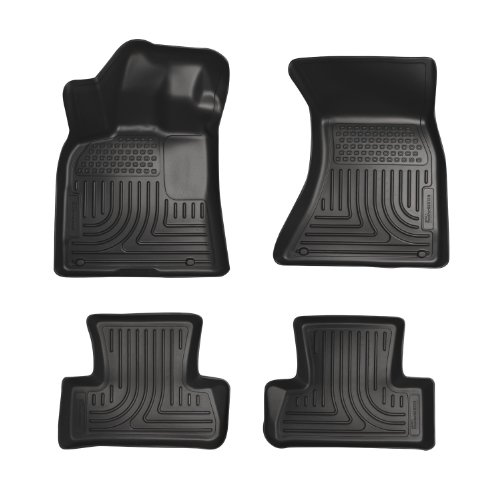 2nd Seat Floor Liners Fits 11-18 300/Charger RWD ()