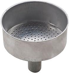 Pedrini 9086.RI1 Ricambio Imbuto Caffettiera, Alluminio, Bianco, 12 tazze