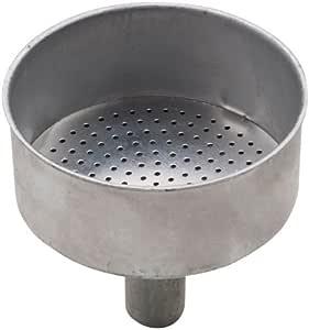 PEDRINI 9085.ri1 Repuesto Embudo Cafetera 9 Tazas, Aluminio, Blanco: Amazon.es: Hogar