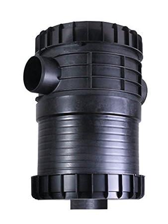 PLURAFIT Filter mit Filterkorb Erdeinbau PLURAFIT Kappe
