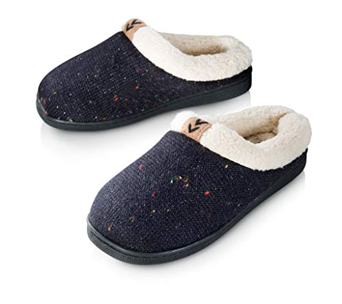 4aab083dc8d20a Pupeez Girls Cozy Warm Sweater Knitted Slipper; A Luxury Style Kids House  Shoe with Rubber