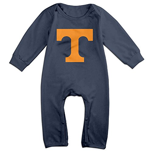 Price comparison product image OOKOO Baby's University Of Tennessee Volunteers Logo Bodysuits Outfits Navy 6 M