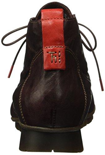 Think! Damen Menscha Desert Boots Rot (CHIANTI/KOMBI 35)