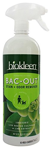 Biokleen Bac-Out Stain+Odor Remover Foam Spray, 32 oz
