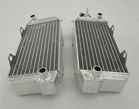 Honda ATV ATC250R ATC 250R 250 1985-1986 85 86 aluminum radiator white HOSE