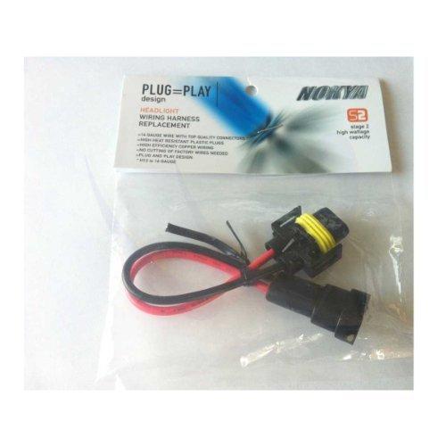 NOKYA NOK9118 NOKYA PLUG & PLAY HARNESS H11/H8/881/893/880 (Plug Play Harnesses)