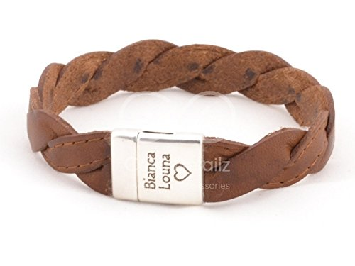 rustic brown leather braided bracelet, mens braided leather bracelet, men women hipster bracelet, gifts for men, magnetic clasp, FREE SHIPPING