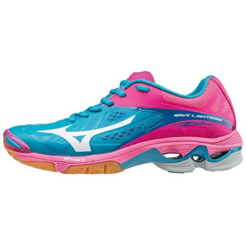 65ac04147be8e Mizuno - Zapatillas de Voleibol para Hombre Rosa Rosa  Amazon.es  Deportes  y aire libre