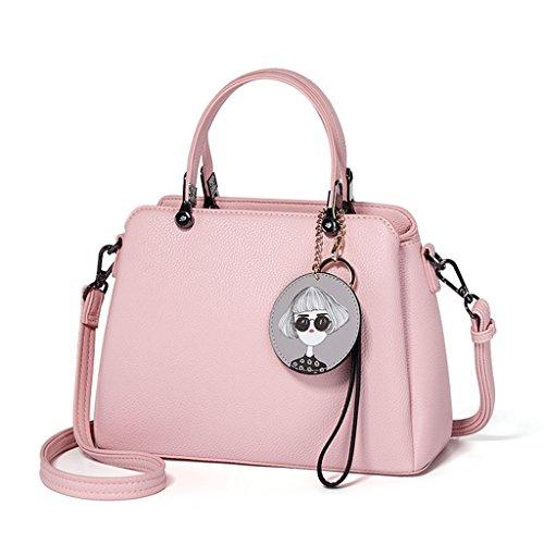 sacs d'épaule mode couleur bandoulière élégant Couleur à pure fourre A Sacs sacs les occasionnels main tout des femmes Design à pour B à bandoulière femmes Hw7IqU0
