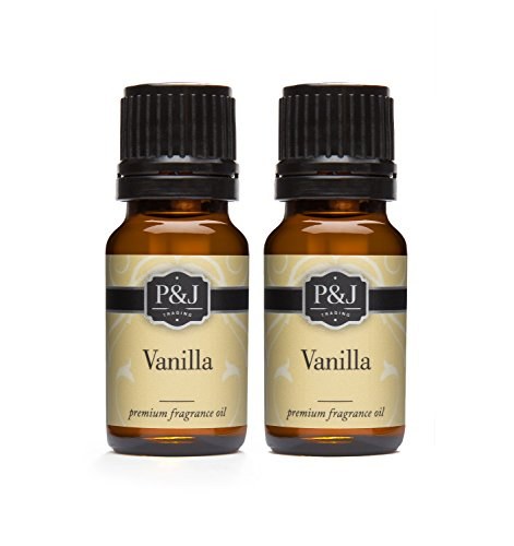 Vanilla Fragrance Oil - Premium Grade Scented Oil - 10ml - 2-Pack
