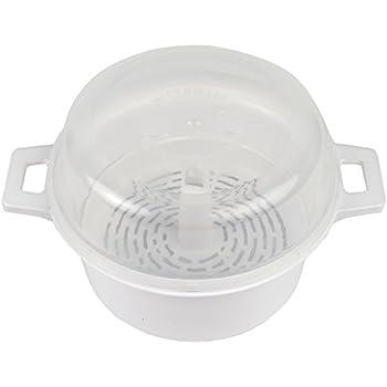 Amazon.com: Vaporera para microondas, cocción saludable ...