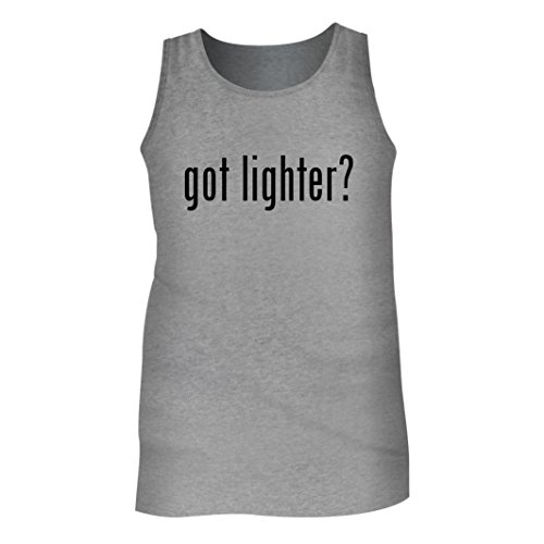 Tracy Gifts Got Lighter? - Men's Adult Tank Top, Heather, XX-Large (Lighters Wholesale Butane)