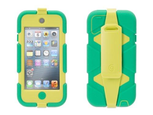 Griffin Mint/ Citron Survivor All-Terrain Case + Belt Clip for iPod touch (5th/ 6th gen.) - Extreme-duty case Griffin Ipod