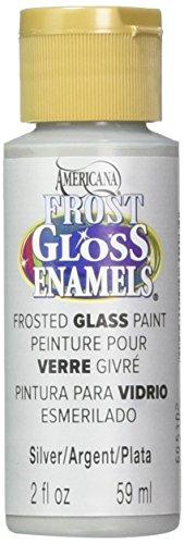 DecoArt Americana Frost Gloss Enamels Paint, 2-Ounce, Silver