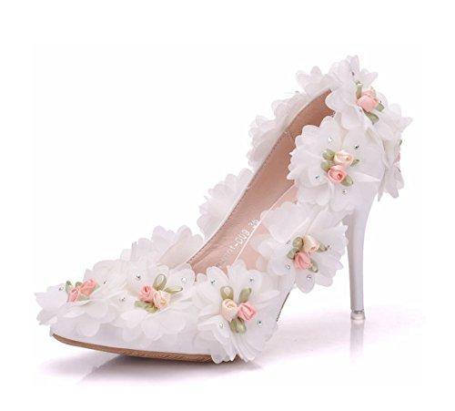 5 Ivory Heel 36 MinitooEU pour Beige Minitoo MZ8259 Escarpins Femme 10cm EU n1wCvRwxq