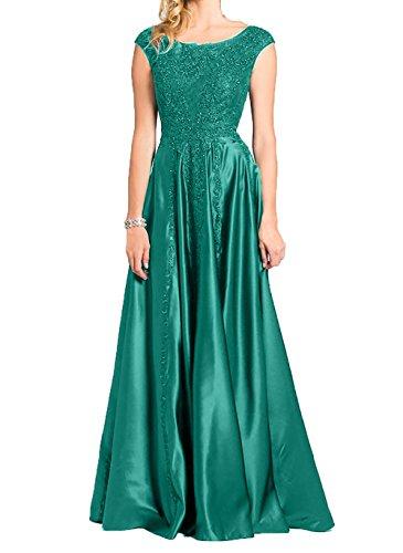 Gruen Partykleider Jaeger Promkleider Elegant mit Ballkleider Neu 2018 Damen Brautmutter Charmant Abendkleider Spitze OYPa7qyw