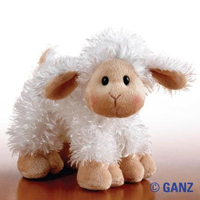 Webkinz Lilkinz Mini Plush Stuffed Animal Lamb by Ganz