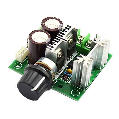 INVENTO 12V – 40V 10A 400W DC Motor Speed Controller (PWM) Adjustable Variable Speed Switch DC Motor Driver Price & Reviews