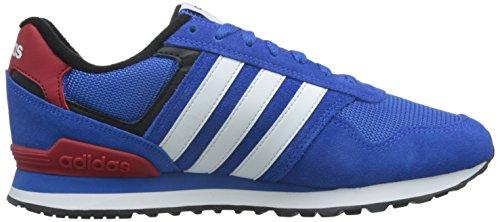 adidas 10k, Zapatillas de Deporte para Hombre Azul (Azul / Ftwbla / Negbas)