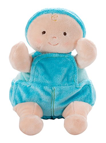 Bear American Doll North Infant (North American Bear Rosy Cheeks Overall Baby Boy Doll)