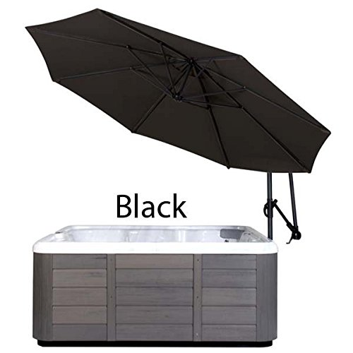 Cover Valet SSUBK Spa Side Umbrella, Black