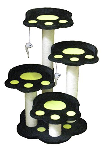 Go Pet Club 35-Inch Cat Tree, Black