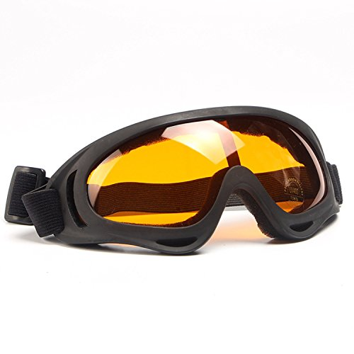 JapanX - Ski Goggles - Snow Goggles for Snowboard Snowmobile,Interchangeable Lens Magnetic Detachable Foam,UV400 Protection Anti-fog Design OTG Snow Goggles for Men Women - Cebe Otg Goggles Ski