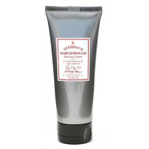Marlborough Luxury Lather Shave Cream Tube (75g) by DR Harris & Co