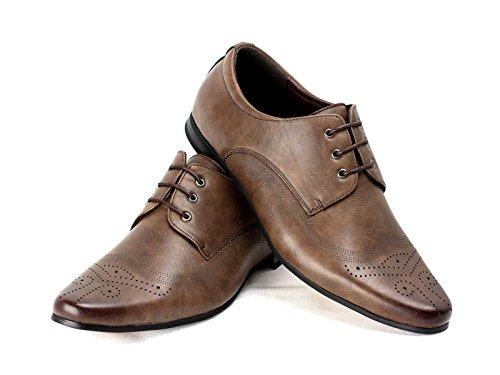 JAS - Zapatillas de Material Sintético para hombre Regular, color beige, talla 45 EU